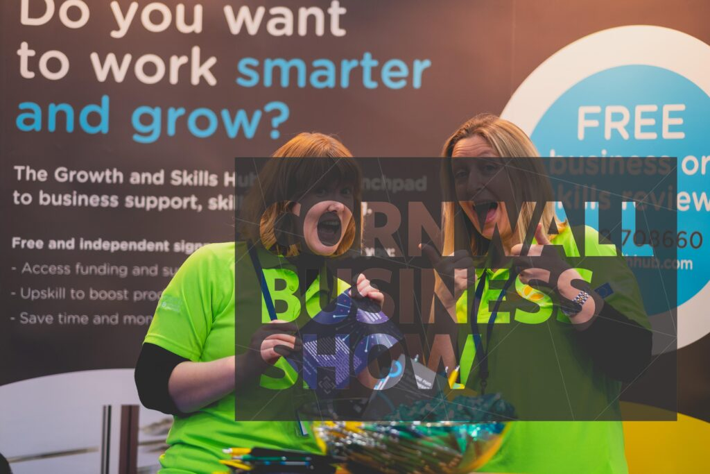The Growth and Skills Hubb offering business support at Cornwall Business Show