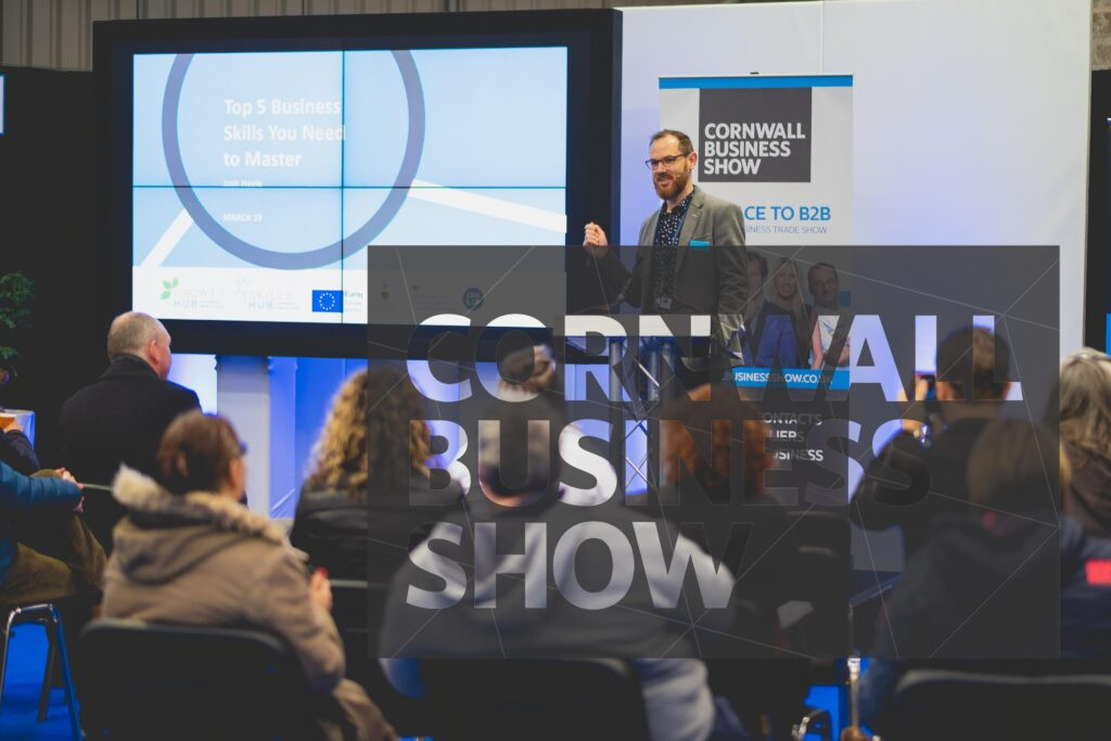 A busy seminar at Cornwall Business Show
