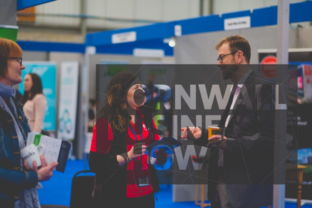 networking at Cornwall Business Show