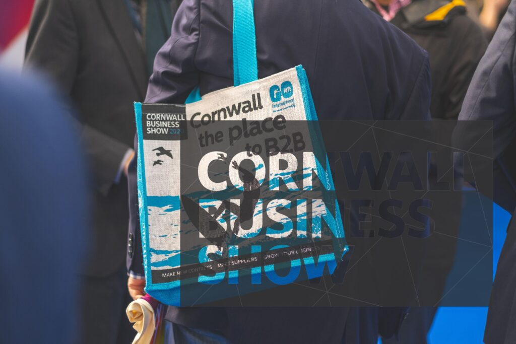 Cornwall the place to B2B bag at Cornwall Business Show