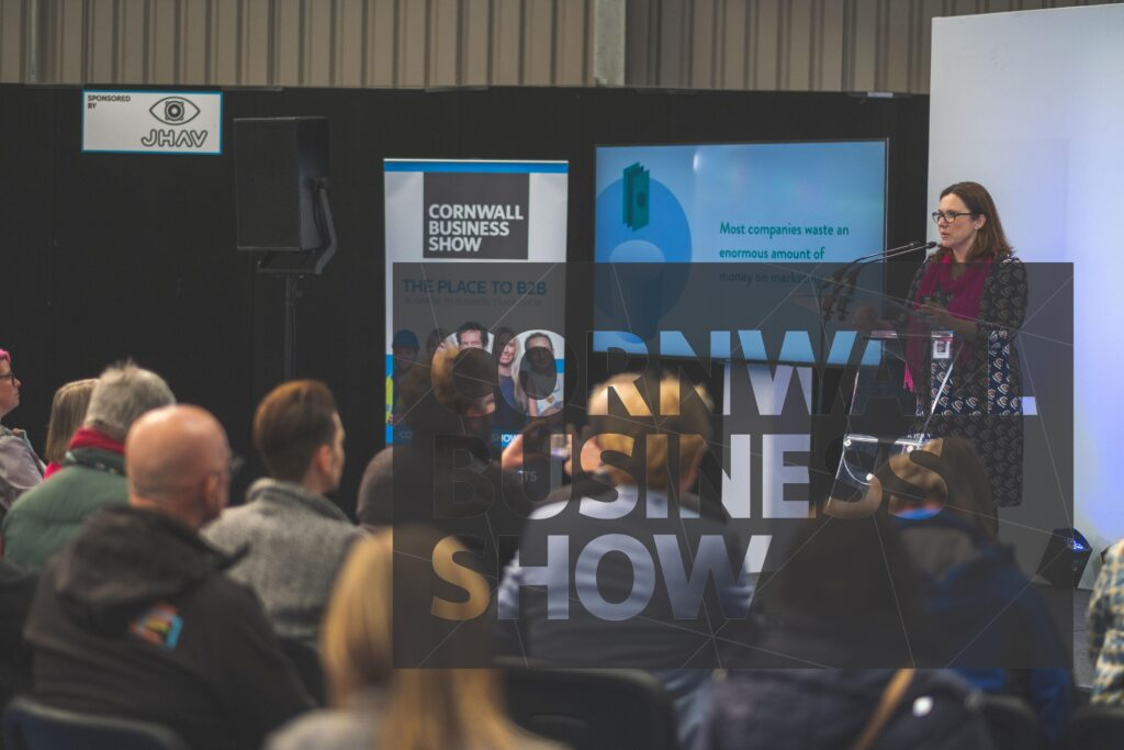 Informative and busy seminars at Cornwall Business Show